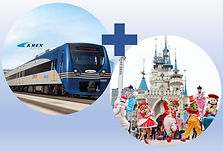 Lotte World 1 Day Pass &AREX Incheon Airport Combo Package