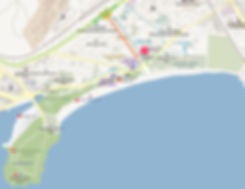 Getting to Haeundae Market & Location Map of Top Places around | Busan, South Korea