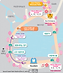 Map of Seoul Grand Park - Cherry Blossom Festival Paths