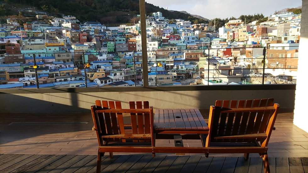 Avant Garde Cafe @ Gamcheon Culture Village & Getting There | Busan, South Korea