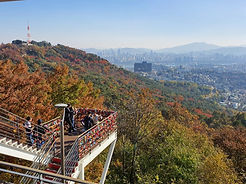 TOP Autumn Foliage Places in/outside Seoul - N Seoul Tower | KoreaToDo