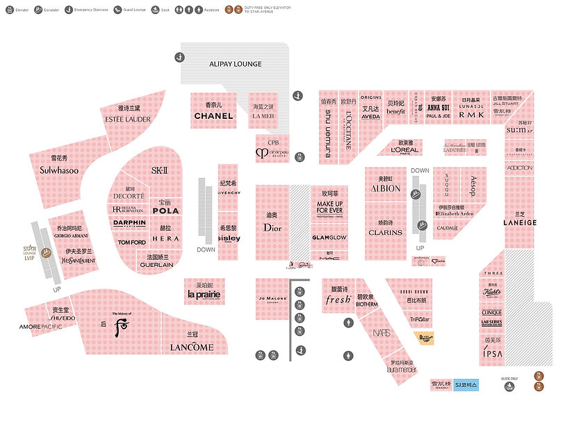 12th Floor Map of LOTTE Department Store (Main Branch) | Seoul, South Korea