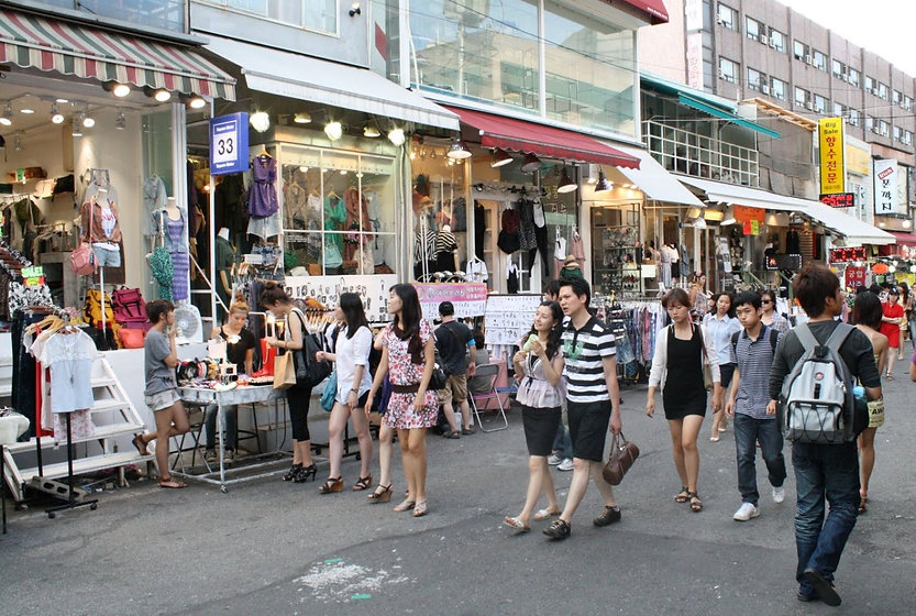 Hongdae (Hongik University Street) & Getting There | Seoul, South Korea