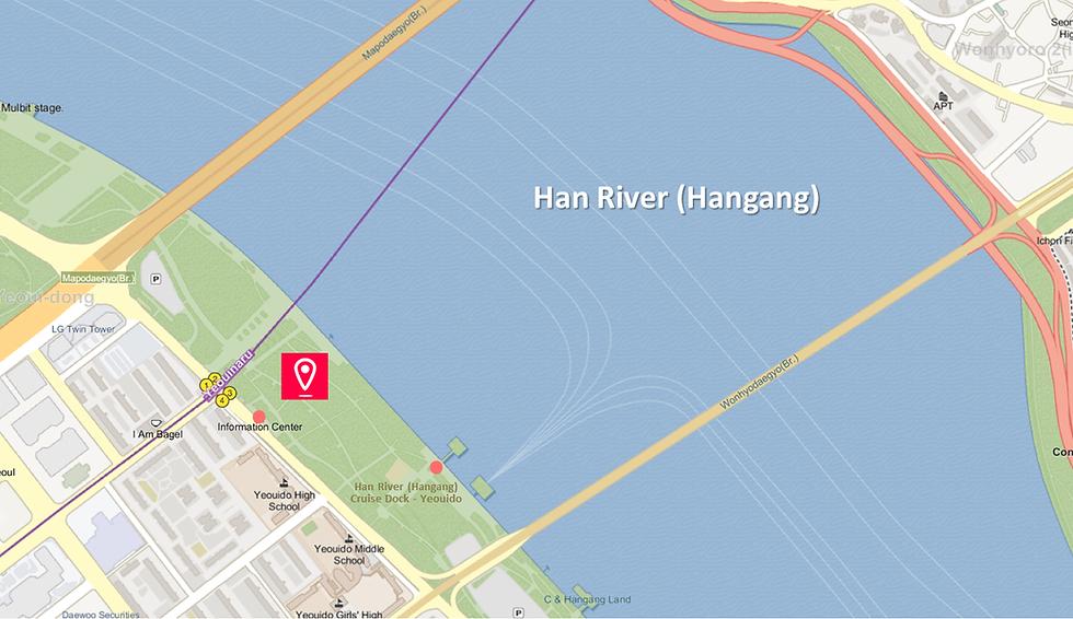 Yeouido Hangang Park - Location Map | KoreaToDo