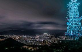 Busan Sparkling Night Tour - Hocheon Village, Dongbaek Island & Mountain