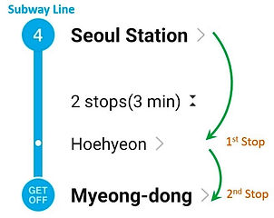 Seoul Station - To Myeongdong Station | KoreaToDo