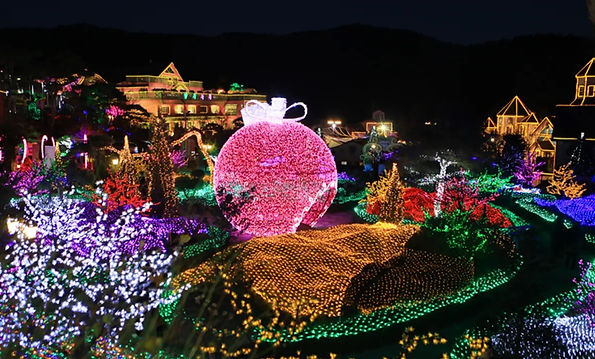 Pocheon Herb Island Fairy Tale Light Festival