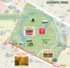 Getting to Olympic Park & Location Map | Seoul, South Korea