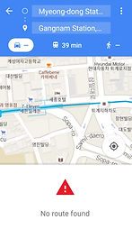 Google Map in South Korea - Car Route not available | Essential Travel Tips on South Korea