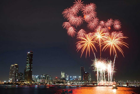Yeouido Hangang Park - Seoul World Fireworks Festival in October & Getting There | Seoul,South Korea