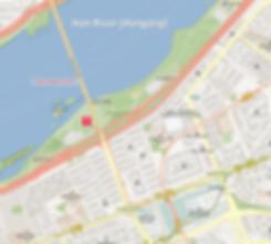 Getting to Banpo Bridge Moonlight Rainbow Fountain & Location Map of Top Places around | Seoul, South Korea