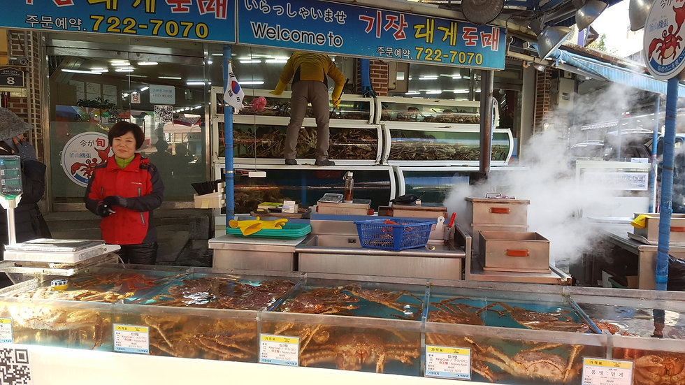Gijang Crab Market & Getting There | Busan, South Korea