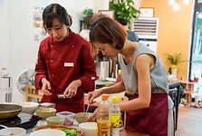 Korean Cooking Class (AM/PM) with Traditional Market Tour