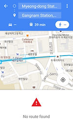 Google Map in South Korea - Walking Route not available | Essential Travel Tips on South Korea