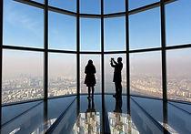 Seoul Sky - Glass-floored observatory on