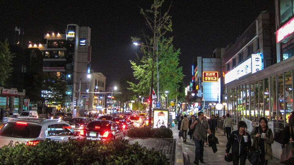 Itaewon Street & getting there | Seoul, South Korea