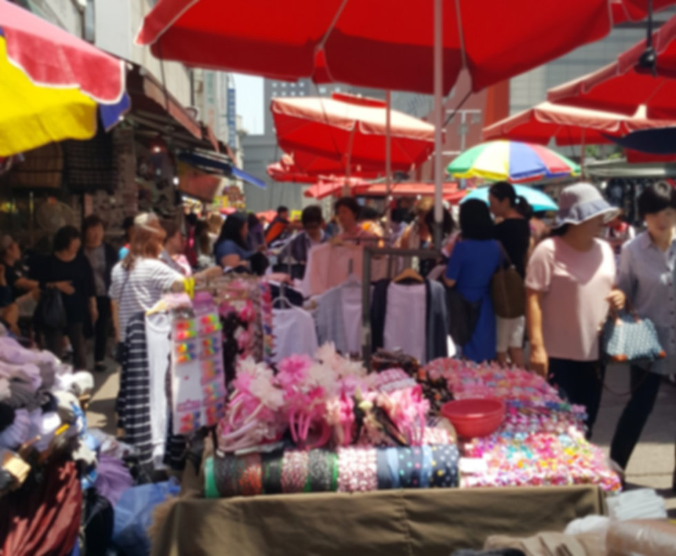 Nandamum Market & getting there | Seoul, South Korea