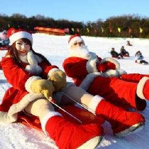 TOP Winter Places to Visit in & out Seoul - Seoul Land - Winter Festival 2020-2021- Snow Sledding | KoreaToDo