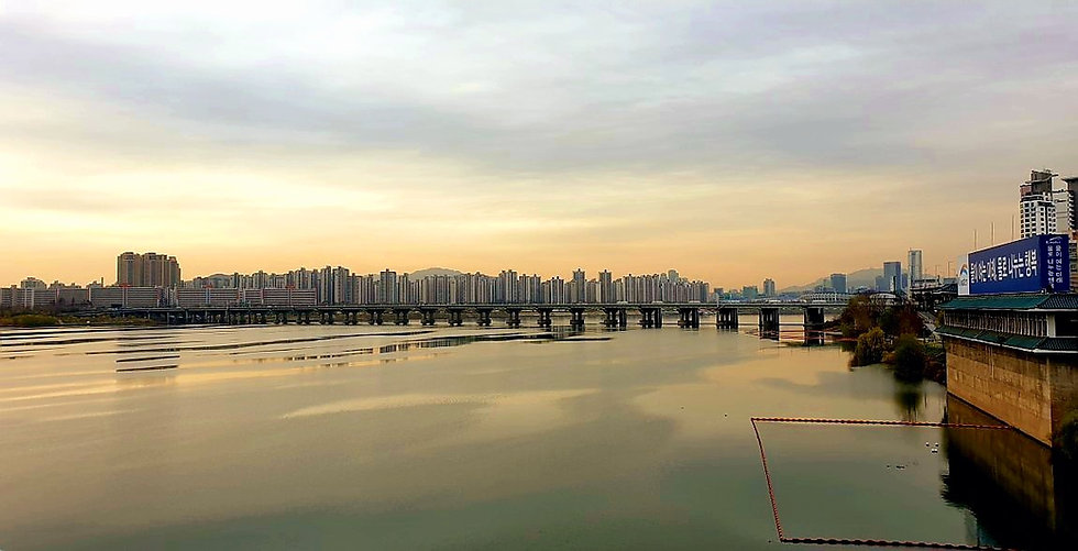 Jamsil Railway Bridge Walk - View from bridge | KoreaToDo