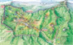 Day Trip from Seoul - Namhansanseong Fortress - Map of Hiking Trails | Gwangju, South Korea