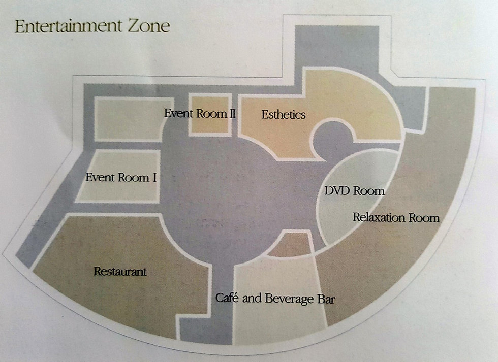 2F Floor Plan of Shinsegae Centum City Spa Land | Busan, South Korea