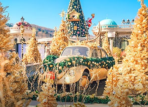 TOP Winter Places to Visit in & out Seoul - Everland - Winter Wishes Magic Garden 2020-2021 | KoreaToDo