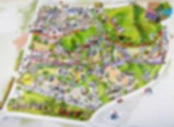 Paju - Heyri Art Village Guide Map   Paju, South Korea