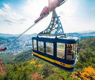 Hidden & secret places to visit in Busan - Geumgang Park Ropeway | Busan, South Korea