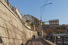 Walk towards Namsan Oreumi Elevator to Namsan Cable Car Station | KoreaToDo