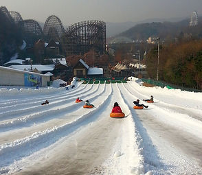 TOP Winter Places to Visit in & out Seoul - Everland Theme Park Snow Buster & The Snow Village Winter Wonderland | KoreaToDo