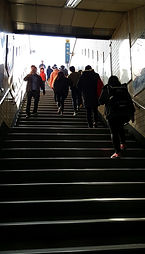 Staircase at Subway Station in Seoul   Essential Travel Tips on South Korea