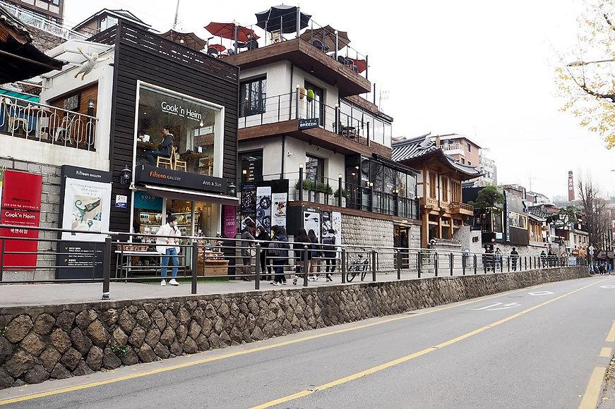 Samcheongdong & Getting There   Seoul, South Korea