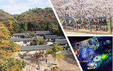 Korean Folk Village, Gwangmyeong Cave & Uiwang Rail Bike Day Trip