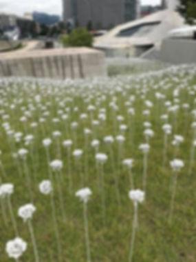 Dongdaemun Design Plaza - LED Roses - Day Time | Seoul, South Korea