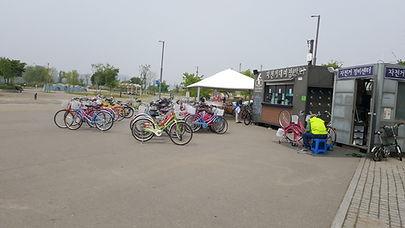 Banpo Hangang Park - Bicycle Rental Kiosk & Getting There | Seoul, South Korea