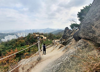 Ansan Mountain (296m)