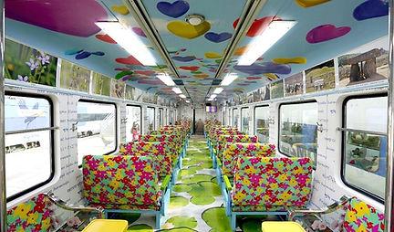 DMZ Train - Train Interior | Day Trip from Seoul, KoreaToDo