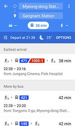 Google Map in South Korea - Bus & Subway Routes | Essential Travel Tips on South Korea