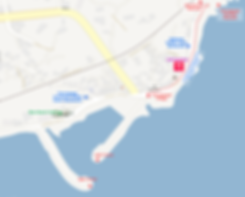 Location map of Cafe Rooftop, nearby attractions at Cheongsapo & Getting There | Busan, South Korea