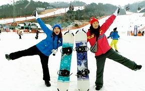 1 Day Ski/Snowboard/Snowy Land Snow Sled/Gondola Tour: Vivaldi Park