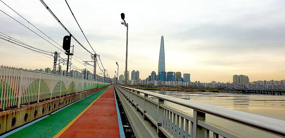 Jamsil Railway Bridge Walk | Seoul, South Korea