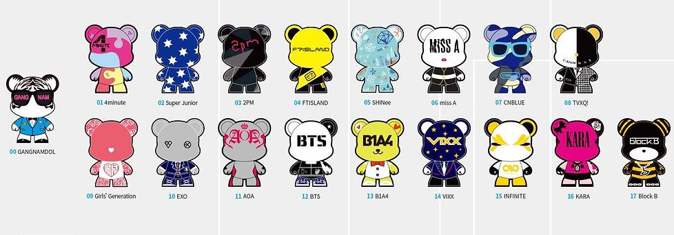 K-Star Road - Gangnamdol Characters & getting here | Seoul, South Korea