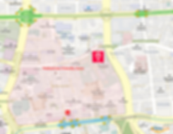 Getting to Myeongdong Cathedral & Location Map of Top Places around | Seoul, South Korea