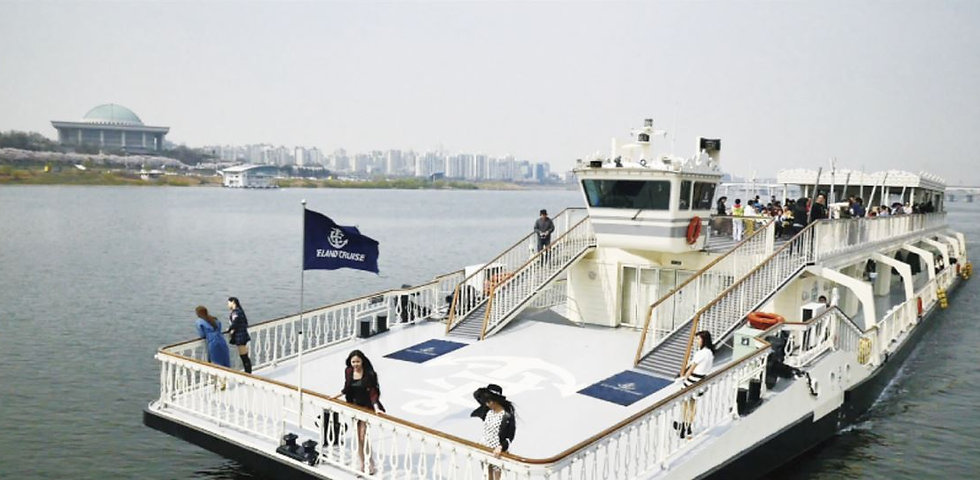 Han River (Hangang) Cruise & Gettng There | Seoul, South Korea