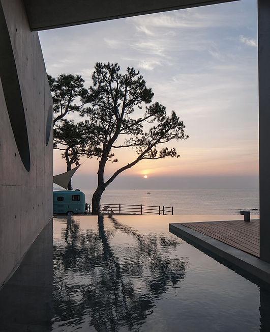 WaveonCoffee house by the sea | Busan, South Korea