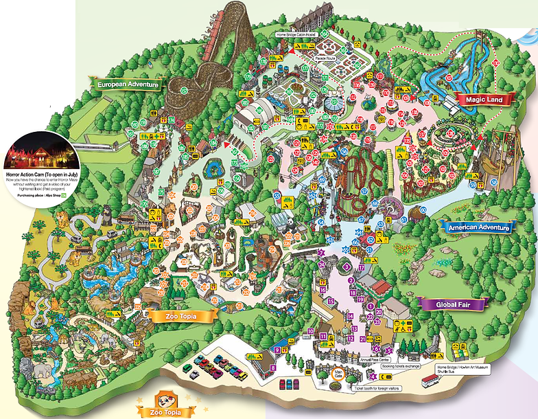 Everland getting there KoreaToDo