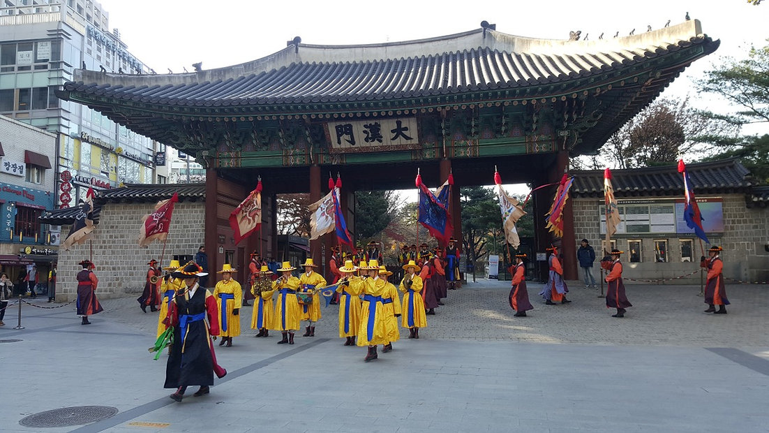 Deoksugung Palace - Changing of the Roya