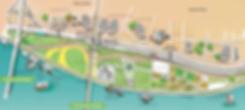Visitor Map of Ttukseom Hangang Park   Seoul, South Korea