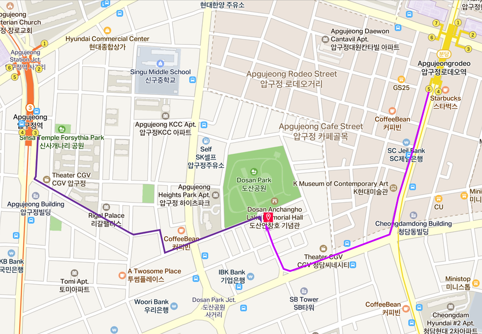 Sulwhasoo Flagship Store - Location Map | Seoul, South Korea