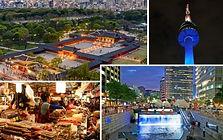 N Seoul Tower, Royal Palace & Foodie Market Night Tour